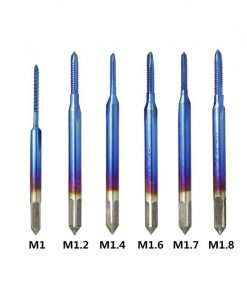 Straight Flute Tap for Blue Coating Machine