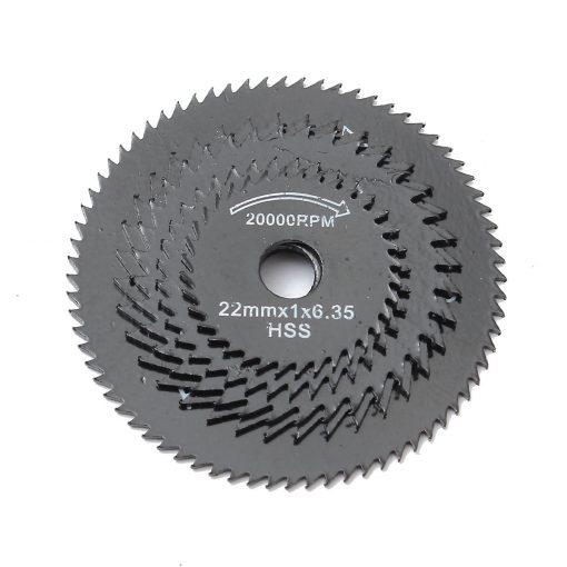 6/10Pcs Mini HSS Circular Saw Blade Rotary Tool For Dremel Metal Cutter Power Tool Wood Cutting Discs Drill Mandrel Cutoff 22-44