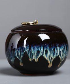 Funeral Ashes Urn For Human Cremation Pet Ashes Holder Keepsake Memory Pal Ashes Ceramic Urns Casket For Dog Cat Bird urn
