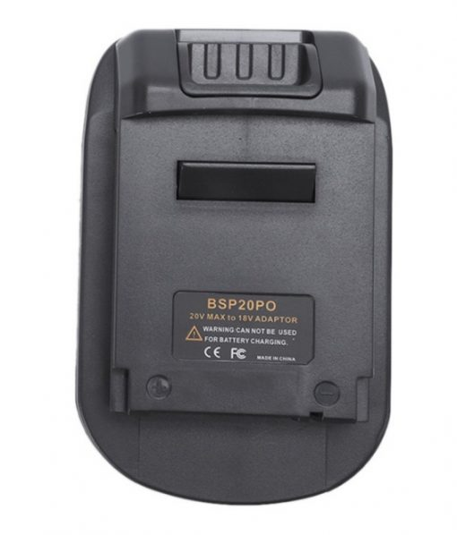 Battery Adapter For Black&Decker Stanley PCC680L/PCC685 To PORTER CABLE 18V Tool