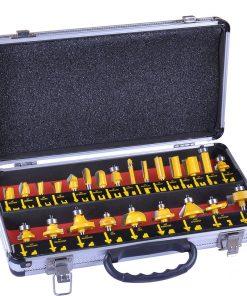 Trimming machine woodworking cutter set