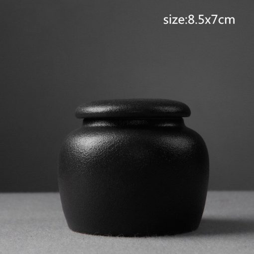 Chinese Ceramic Tea Container Cans Canister | Porcelain | Gong Fu Can | Candy Can | Handmade Tea Ceremony Accessories
