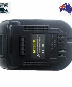 Battery Adapter For Makita 18V Li-ion battery to Dewalt 20V slide Tools AU