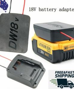 Battery adapter for DeWALT 18V dock power connector 12 Gauge Cable DIY Adapter