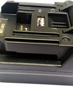 Adapter for Dewalt Milwaukee 18V Li-ion Battery used for Makita Power tool DM18M