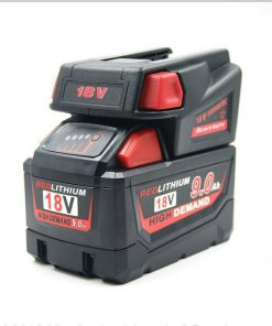 Milwaukee M18 18V Li-ion Battery Convert To Milwaukee V18 Battery USB Adapter
