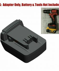 New For Dewalt 18V 20V max Battery Adapter convert to for Milwaukee M18 18V tool