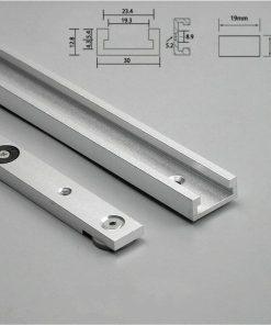 T Track Slot Miter Bar Aluminium alloy Slider Table Saw Gauge Woodworking Tools