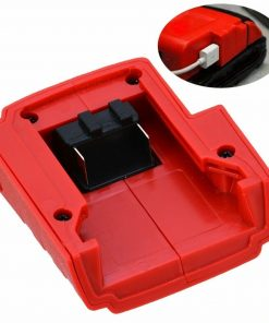 New Battery Charger Power USB Charger Adaptor Replaces For Milwaukee 49-24-2371 M18 Controlled Switching Converter 15V-21V