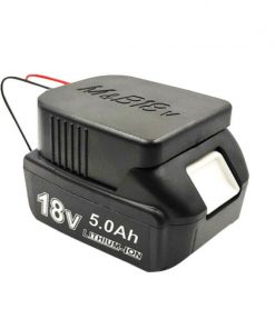 Battery Adapter Convert MAKITA BOSCH 18V Lithium Battery To DIY 12 Awg Cable AU